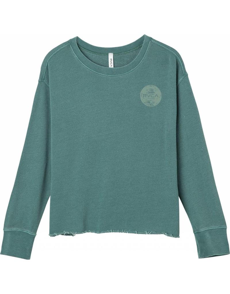 RVCA Brush Dot Crew Sweater