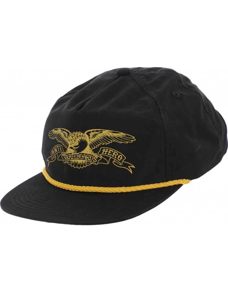 Anti Hero Anti Hero Basic Eagle Snapback (black/gold)