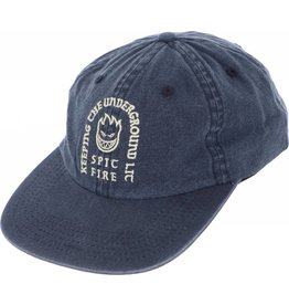 Spitfire Spitfire Steady Rockin Strapback Hat (washed navy)