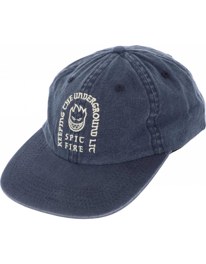 Spitfire Spitfire Steady Rockin Strapback Hat (washed navy)