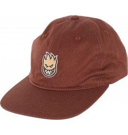 Spitfire Spitfire Lil Bighead Fill Strapback Hat (dark brown/orange)
