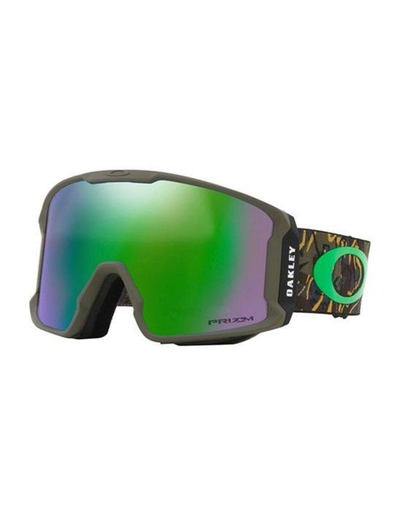 Oakley LineMiner Goggles 19 (Camo Vine Jungle/ Prizm Jade Iridium)
