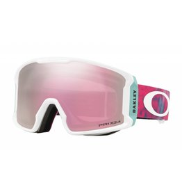 Oakley LineMiner XM Goggles 19 (Tranquil Flurry Coral/ Prizm HI Pink)