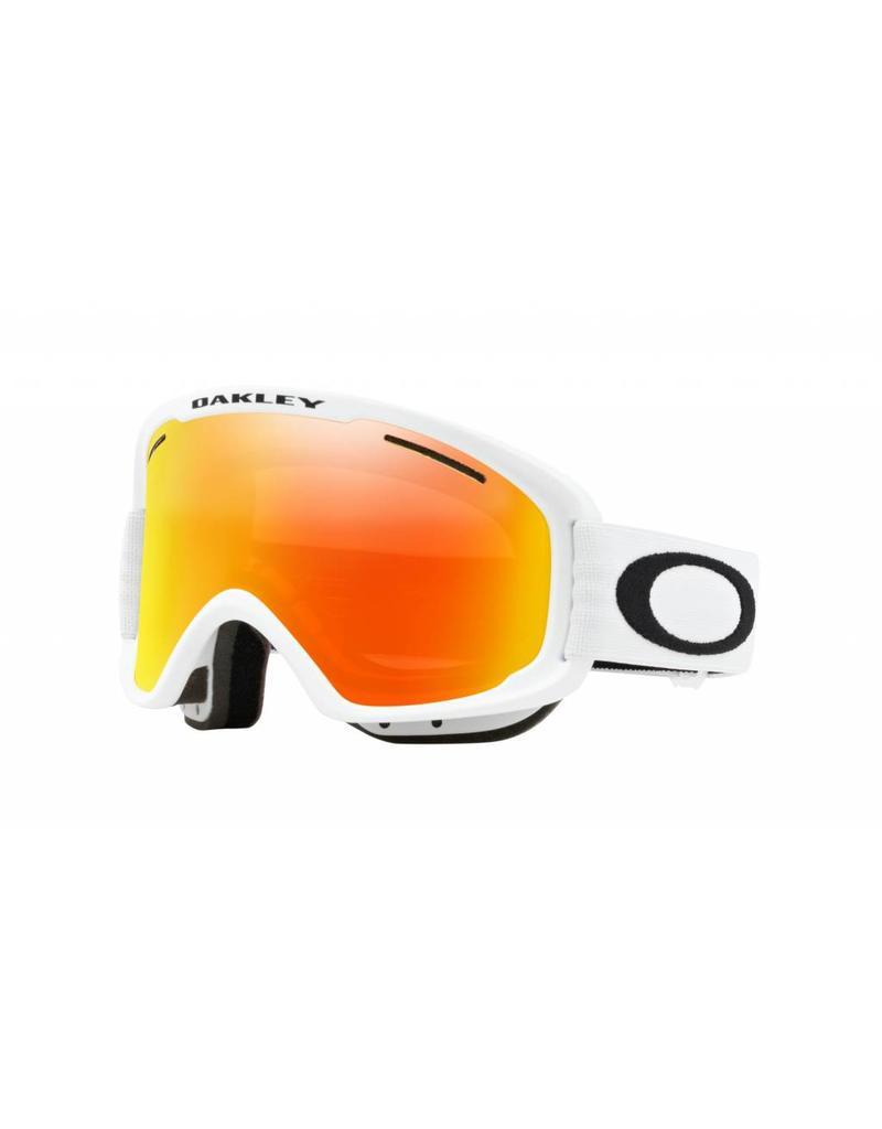 Oakley O Frame 2.0 XM Goggles 19 (Matte White/ Fire & Pers) - Shredz ...