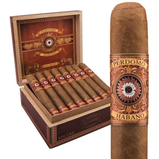 PERDOMO CIGAR CO. PERDOMO HABANO SUN GROWN 5X54 ROBUSTO single