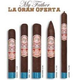 MY FATHER CIGAR CO. My Father La Gran Oferta Lancero 7.5x38 20ct. Box