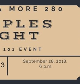 Couples Night Ticket $25 per person includes 1 Drink and 3 cigars