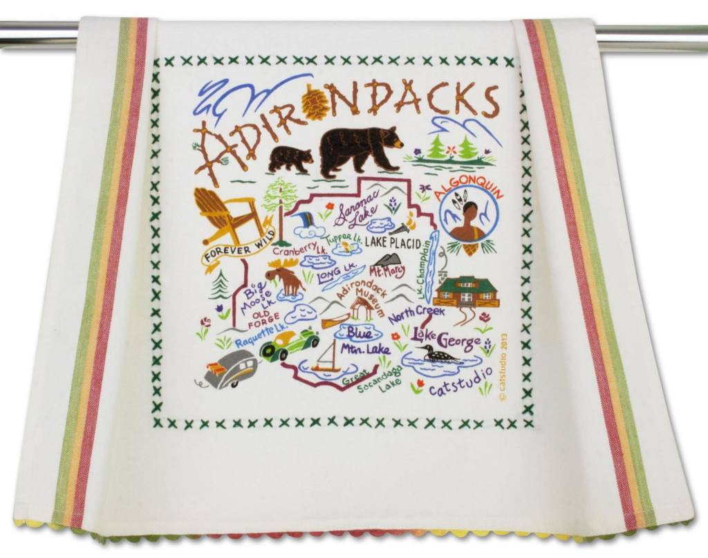 Cat Studio Adirondack Dish Towel