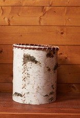 Twin Lakes Rustic Birch Waste Basket