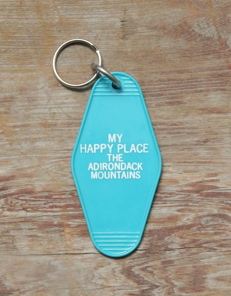 National Hospitality My Happy Place Key Tag