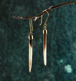 Roost Short Quill Earrings