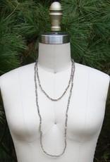 Vagabond Vintage Smokey Quartz Beaded Necklace