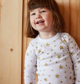 Skylar Luna Organic Gold Star PJs