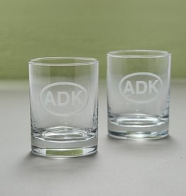 Rolf ADK Rocks Glasses, Set of 2