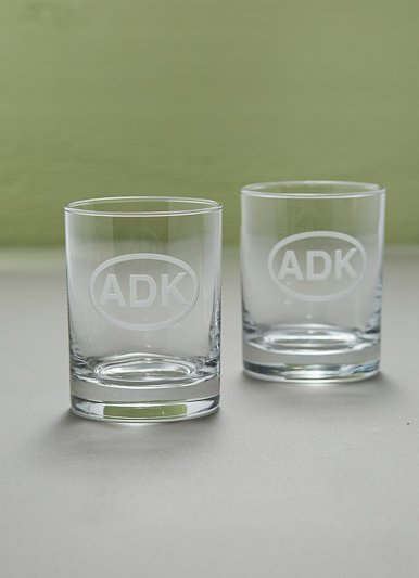 Rolf ADK Rocks Drinking Glasses, Set of 2