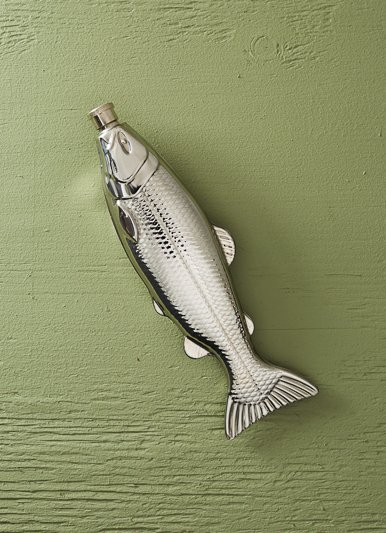 Kikkerland Fish Flask