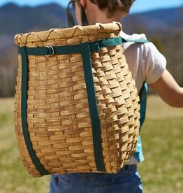 "Clear Creek Weavers 13"" Pack Basket"