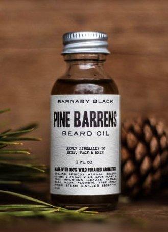 Barnaby Black Pine Barrens Beard Oil