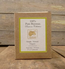 The Bee Man Beeswax Pinecone Candle