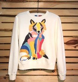 G. Kero Colorful Fox Sweatshirt