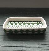 Natural Habitat Clover Green Soap Dish