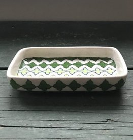 Natural Habitat Clover Green Soap Dish