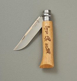 Opinel Animalia Engraved Pocket Knives