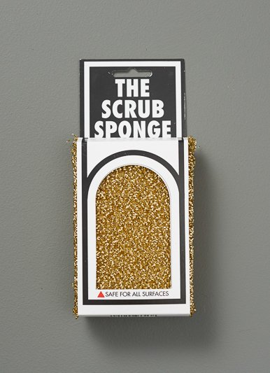 The Birch Store Metallic Scrub Sponge Set