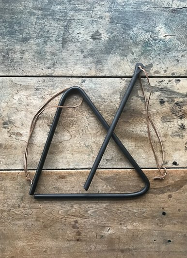 The Birch Store Iron Triangle Bell