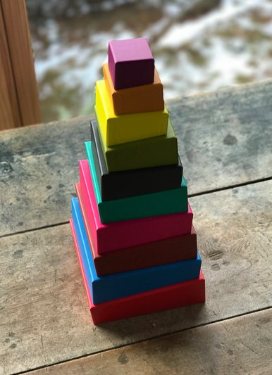 Chronicle Topsy Turvy Stacking Blocks