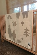Klippan/Cose Nuove Cotton Polar Bear Baby Blanket