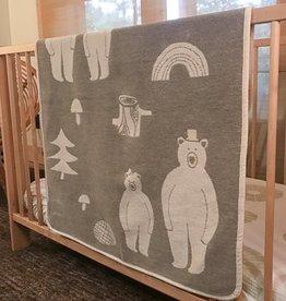 Klippan/Cose Nuove Cotton Baby Blanket