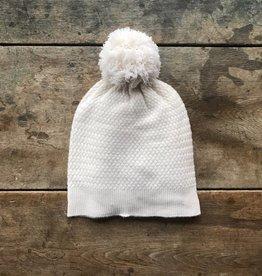 Kinross Cashmere Cashmere Hat with Pom Pom