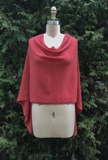 Alashan Cashmere Draped Topper - Brights