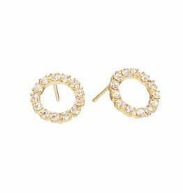 Padgett Hoke Swarovski Post Earrings