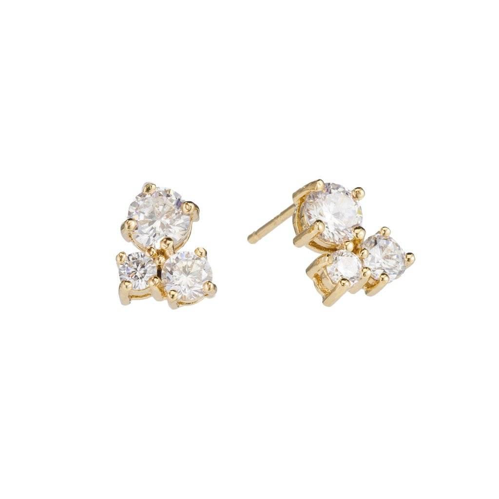 Padgett Hoke Crystal Post Earring