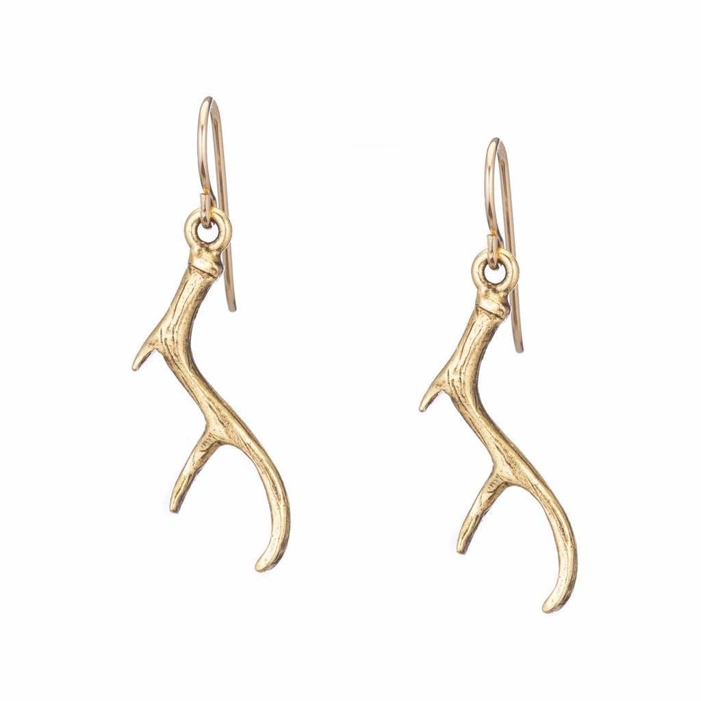 Padgett Hoke Antler Earrings