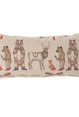 Coral & Tusk Embroidered Lumbar Pillow