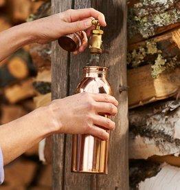 NJ Overseas Copper Water Bottle