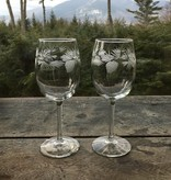 Rolf Icy Pine Goblet Set of 2