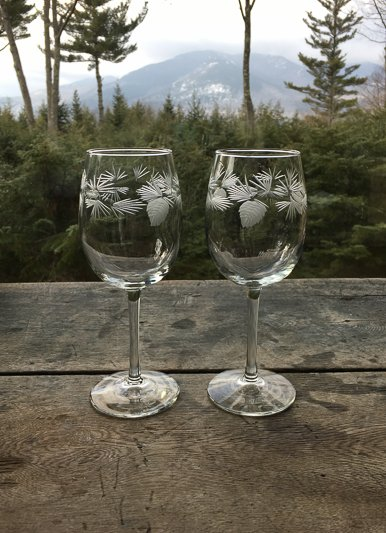 Rolf Icy Pine Small Wine Set of 2