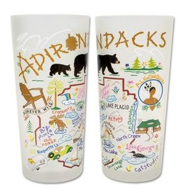 Cat Studio Adirondack Drinking Glass