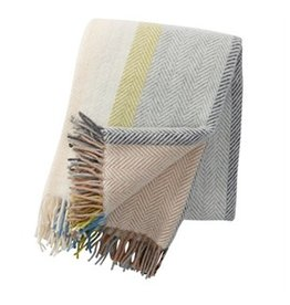 Klippan/Cose Nuove Birka Natural Throw