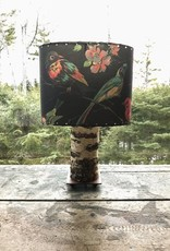 Found Images Birch Tree Lamp