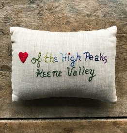 Lori Hall Heart of the High Peaks Balsam Filled Pillow