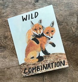 Small Adventure Wild Combination Fox Card