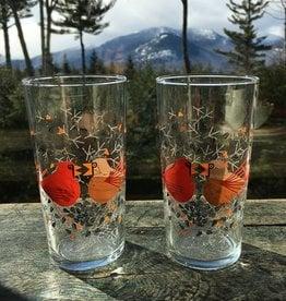 Fishs Eddy Cardinal Glass