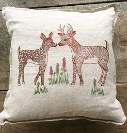 Coral & Tusk Deer Love Pillow