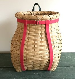 "Clear Creek Weavers 16"" Pack Basket"