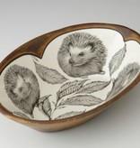 Laura Zindel Large Serving Dish Hedgehog #2